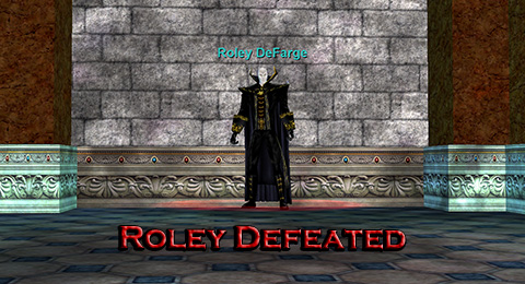 Roley Defeated