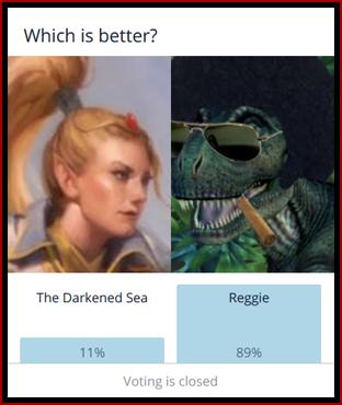 The Darkened Sea vs. Reggie Washington